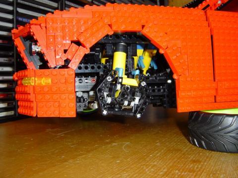 The LPEpower mustang test car | LPEpower